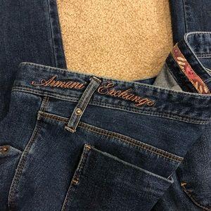 Armani Exchange A/X Straight Leg Jeans Size 10